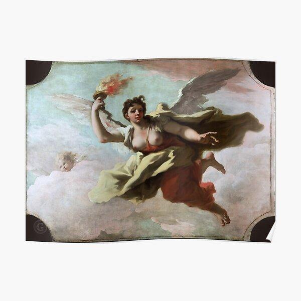 Mauritshuis – Giovanni Antonio Pellegrini - Aurora  Poster