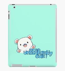 unBEARably Cute Polar Bear iPad Case/Skin