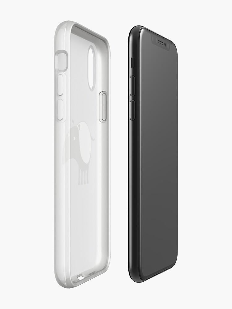 Alternate view of Malayan Tapir iPhone Case & Cover