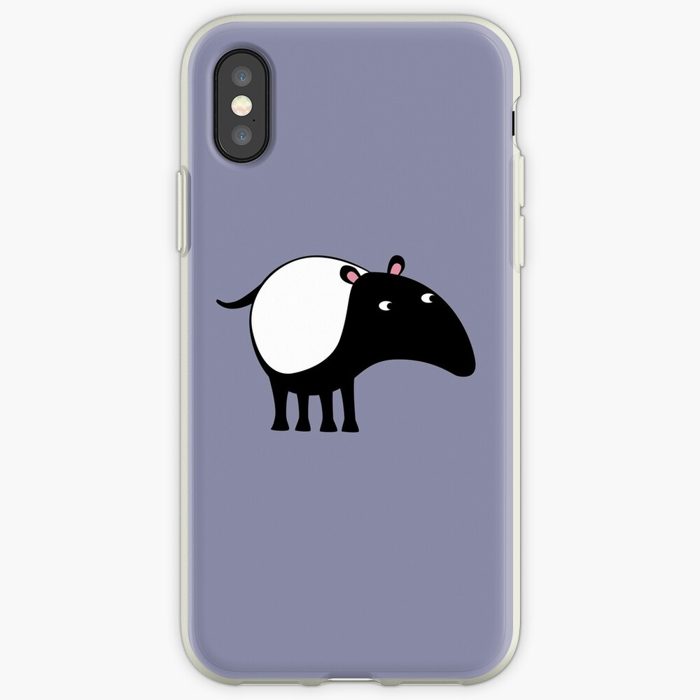 Malayan Tapir iPhone Case & Cover