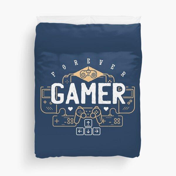 Forever Gamer Duvet Cover