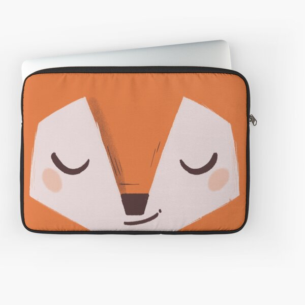 Winter Fox Housse d'ordinateur