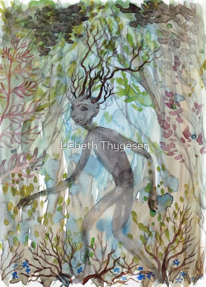 Forest guardian by Lisbeth Thygesen
