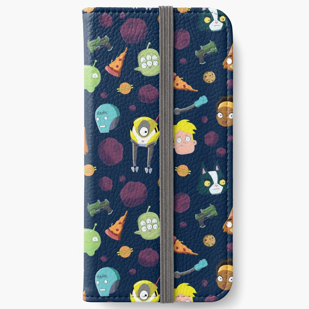 Final Space Character Pattern iPhone Wallet