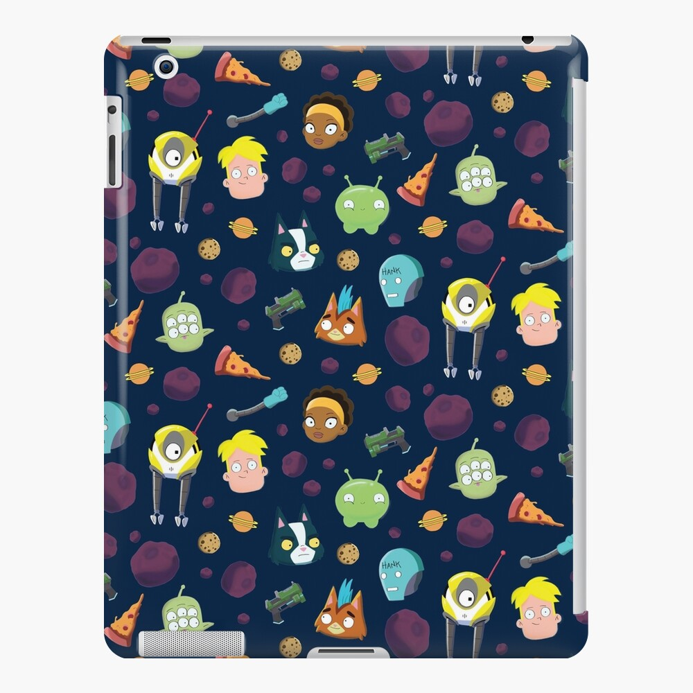 Final Space Character Pattern iPad Case & Skin