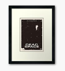 Dead Space Poster Framed Print