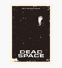 Dead Space Poster Photographic Print