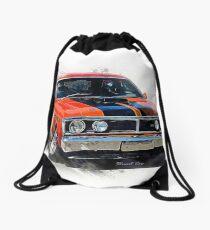 Red XY Ford Falcon GT Drawstring Bag