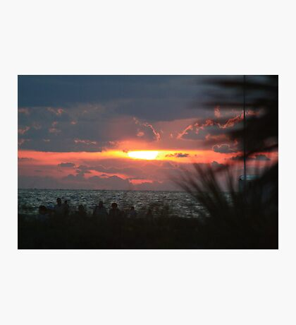 Sunset at Sand Key Photographic Print