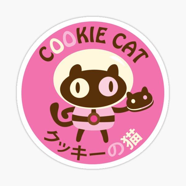 Cookie Cat 1 Pegatina