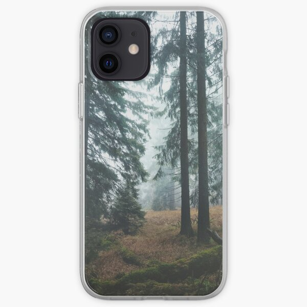 Deep In The Woods iPhone Soft Case