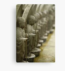 Japanese Figures Metal Print