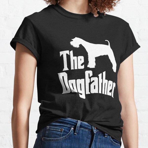 The Dogfather - Miniature Schnauzer, funny doggift idea Classic T-Shirt