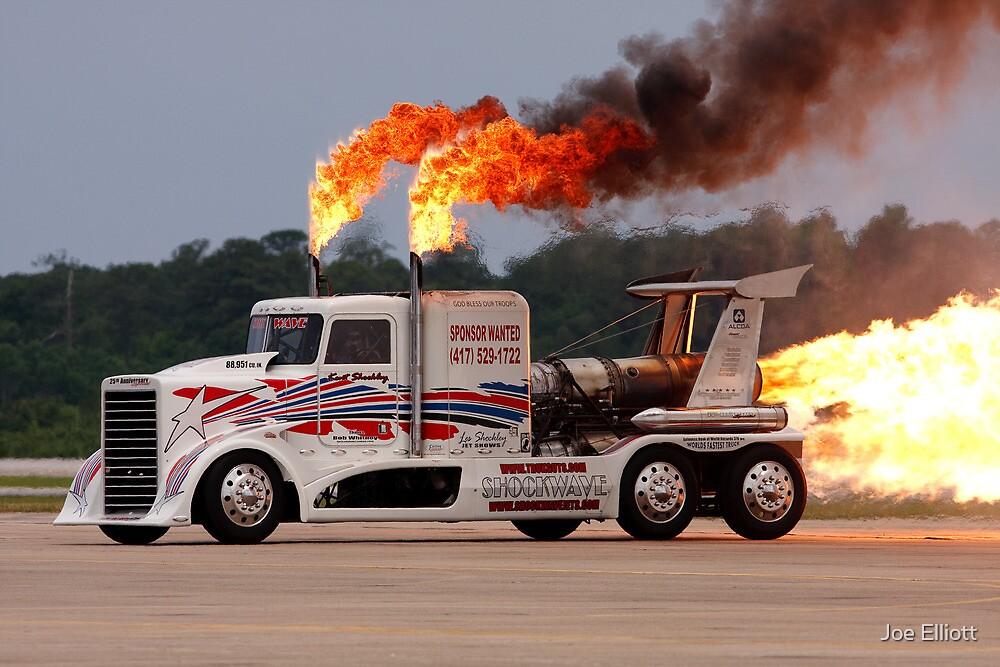 Jet Engine Truck by Joe Elliott