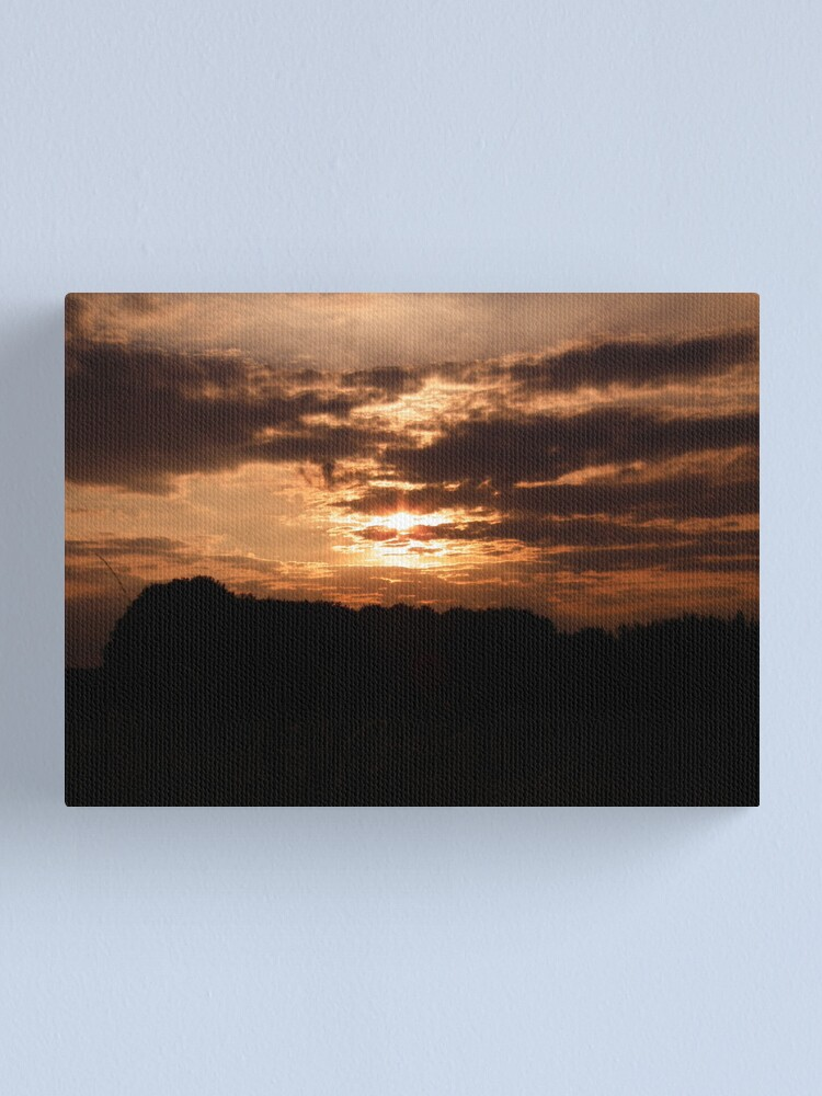 Alternate view of Kent Sunset 01 Canvas Print