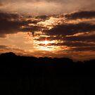 Kent Sunset 01 by Peter Barrett