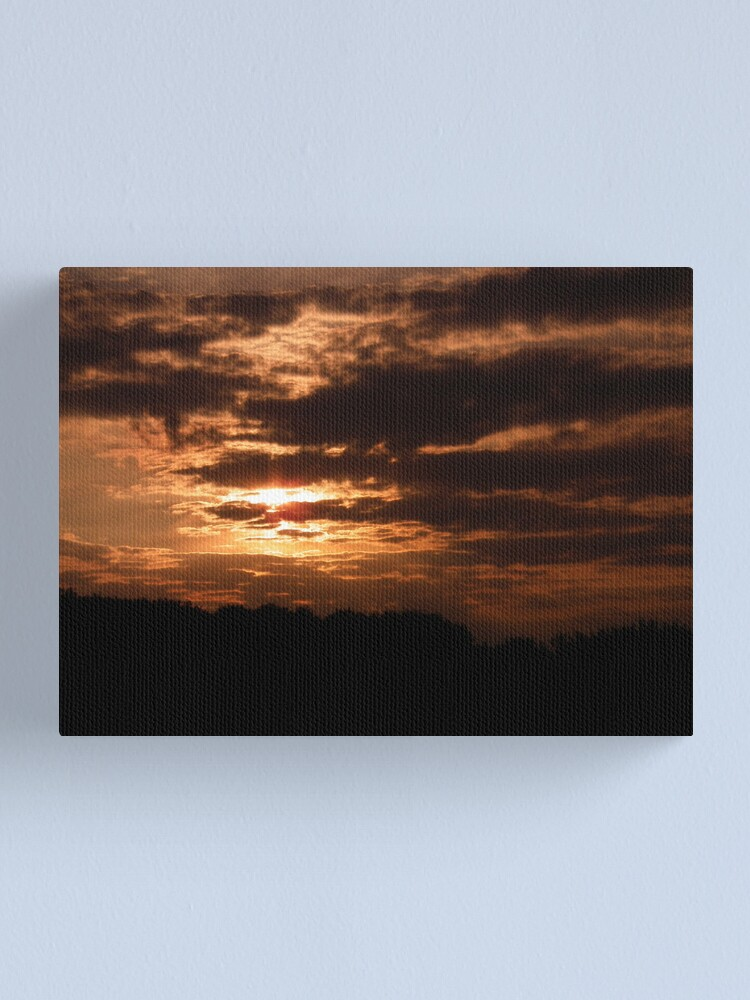 Alternate view of Kent Sunset 02 Canvas Print