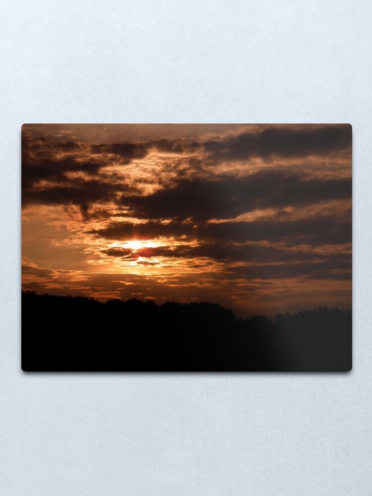 Alternate view of Kent Sunset 02 Metal Print