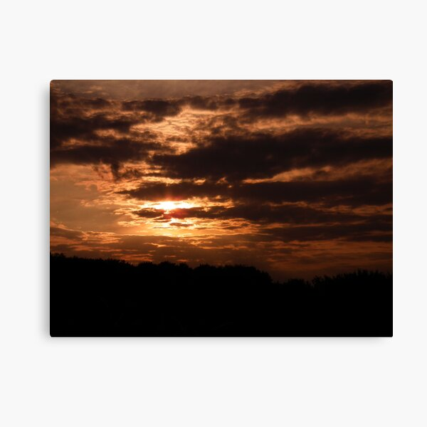 Kent Sunset 02 Canvas Print
