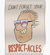 08e012dde0 Respectacles Slim Fit T-Shirt. By Bauzmann. $18.34. Respectacles Poster