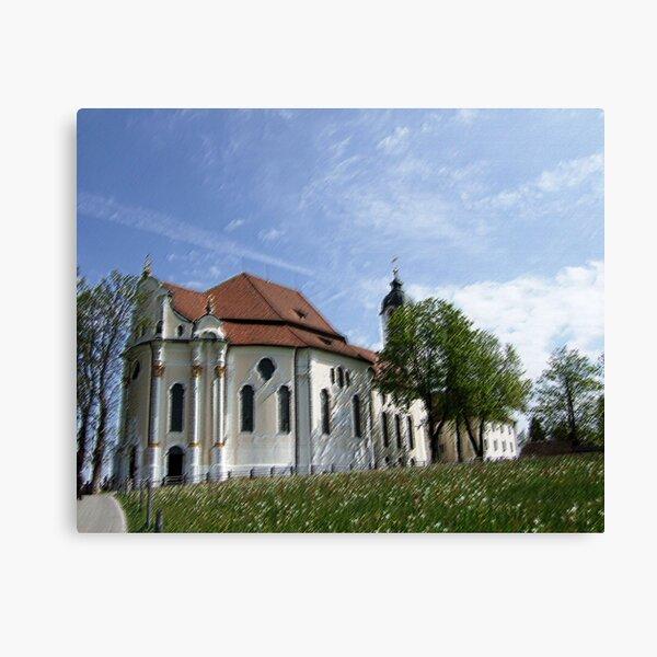 Wieskirche Leinwanddruck