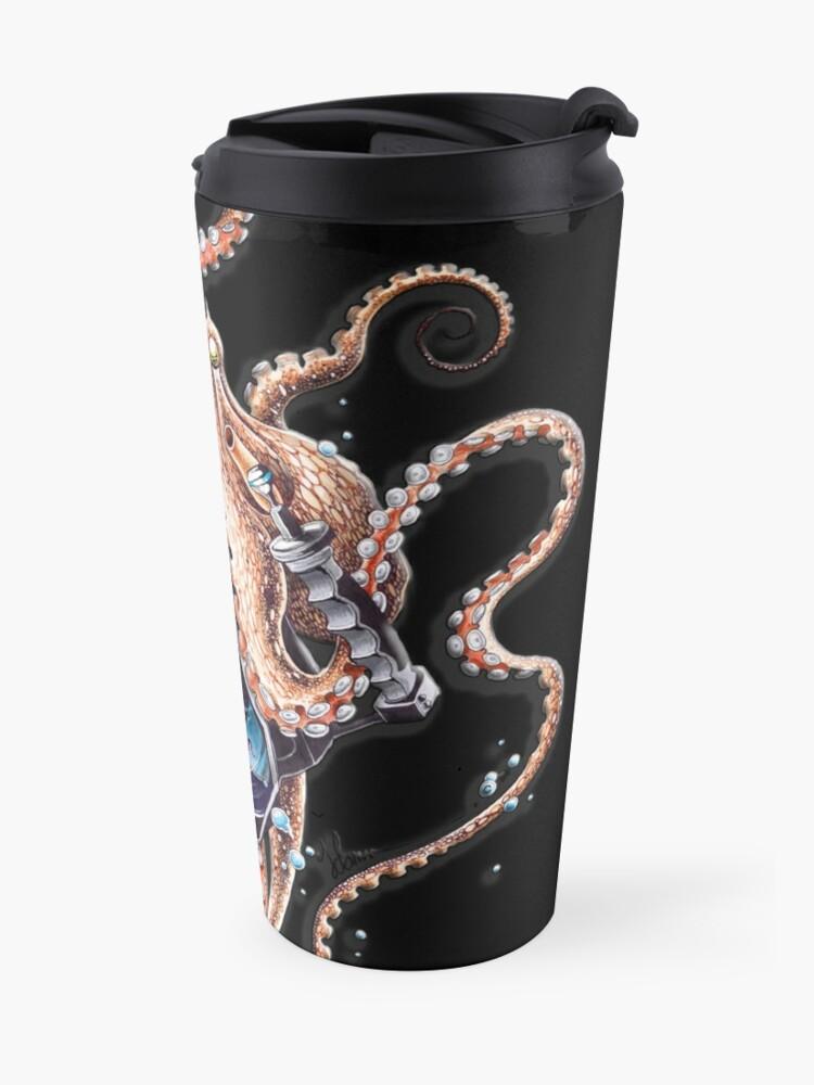 Alternate view of Coconut Octopus Travel Mug