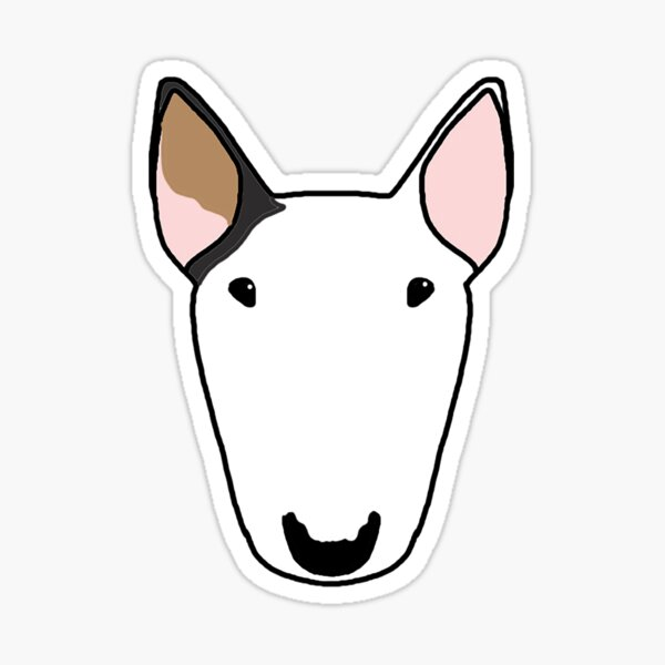 Bull Terrier Stickers | Redbubble