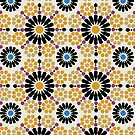 Alhambra Geometrics FOUR by BigFatArts