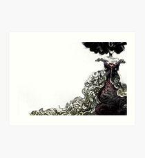 Homage to Alexander McQueen Art Print