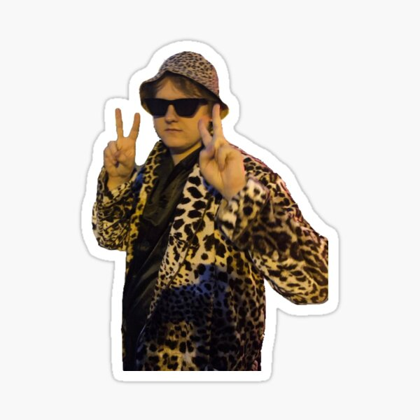 Lewis Capaldi peace sign Sticker
