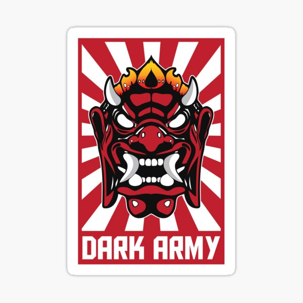 Mr Robot Dark Army Hacking Group Pegatina