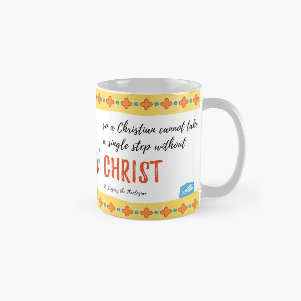 St Gregory Theologian quote Mugs