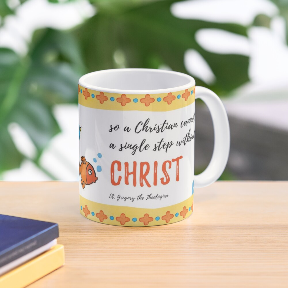 St Gregory Theologian quote Mug