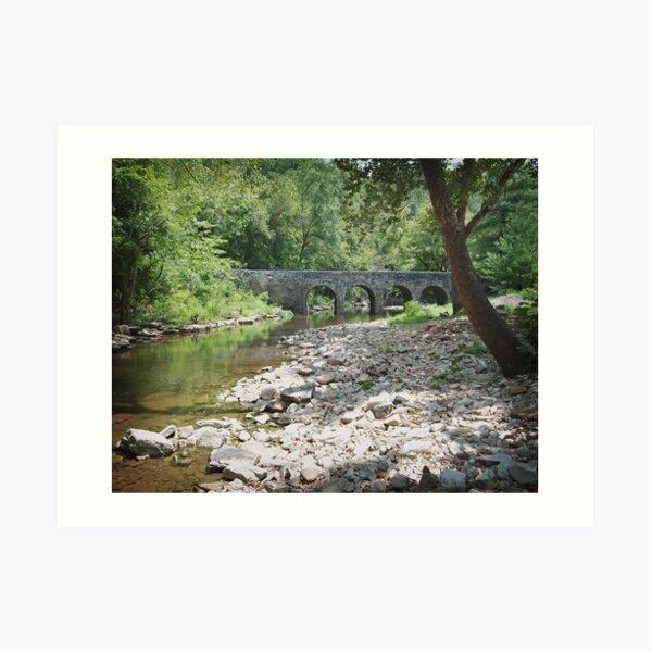 Glass Mill Bridge Art Print