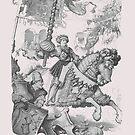 Medieval German Knight... Der Sieger im Turnier by edsimoneit