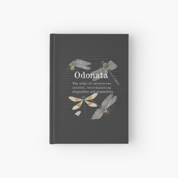 Odonata Study Hardcover Journal