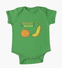 Orange is the new Banana One Piece - Short Sleeve