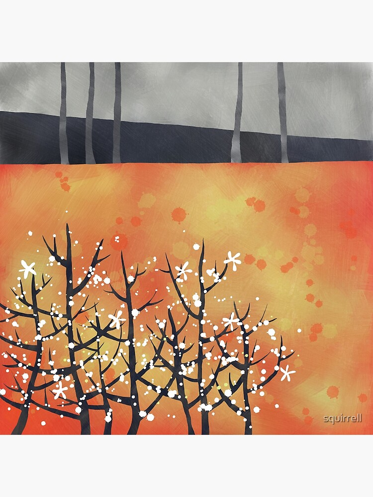 Blackthorn Landscape by squirrell