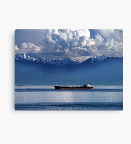 Evening Passage Canvas Print
