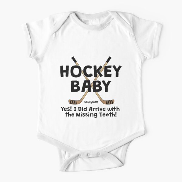 Cute Kids Sports Bodysuits I LOST ALL MY TEETH PLAYING HOCKEY