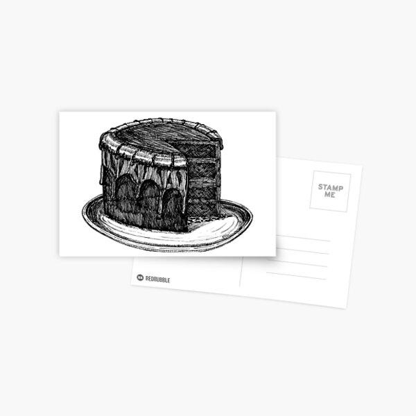Good Enough To Eat Greeting Card (Blank) Postcard