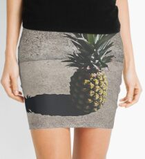 Pineapple  Mini Skirt