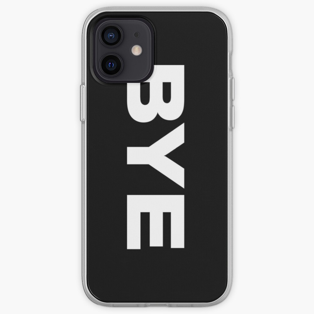 BYE iPhone Case & Cover