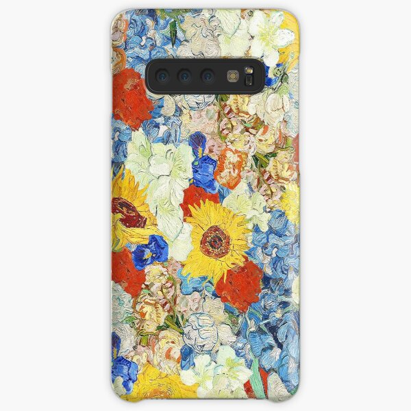 Van- Goghblumencollage Samsung Galaxy Leichte Hülle