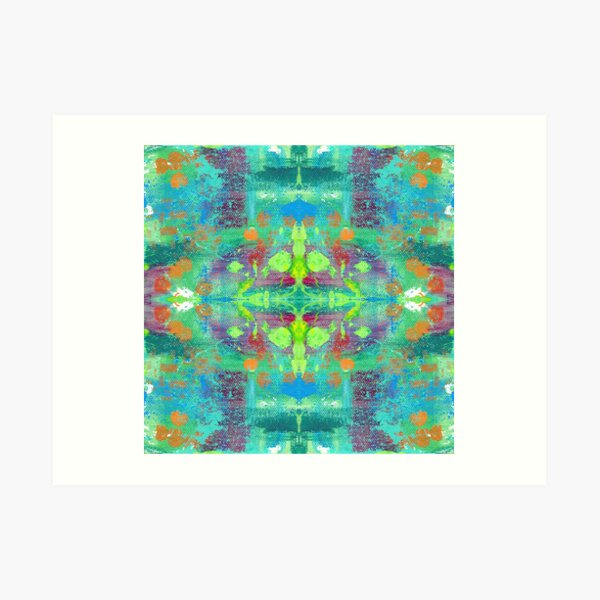 Trippy Drippy Art Print