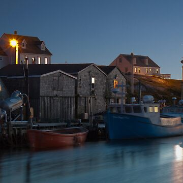 Harbour At Peggy's Cove by sruhs