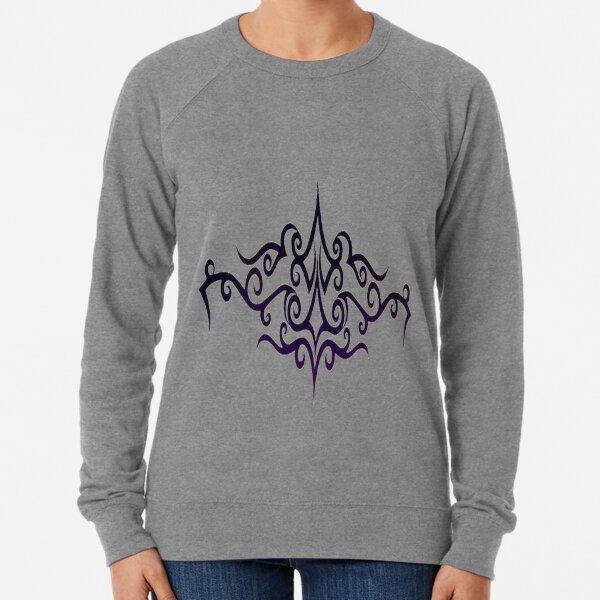 #Decoration, #design, #spiral, #pattern, ornate, illustration, element, curve Lightweight Sweatshirt