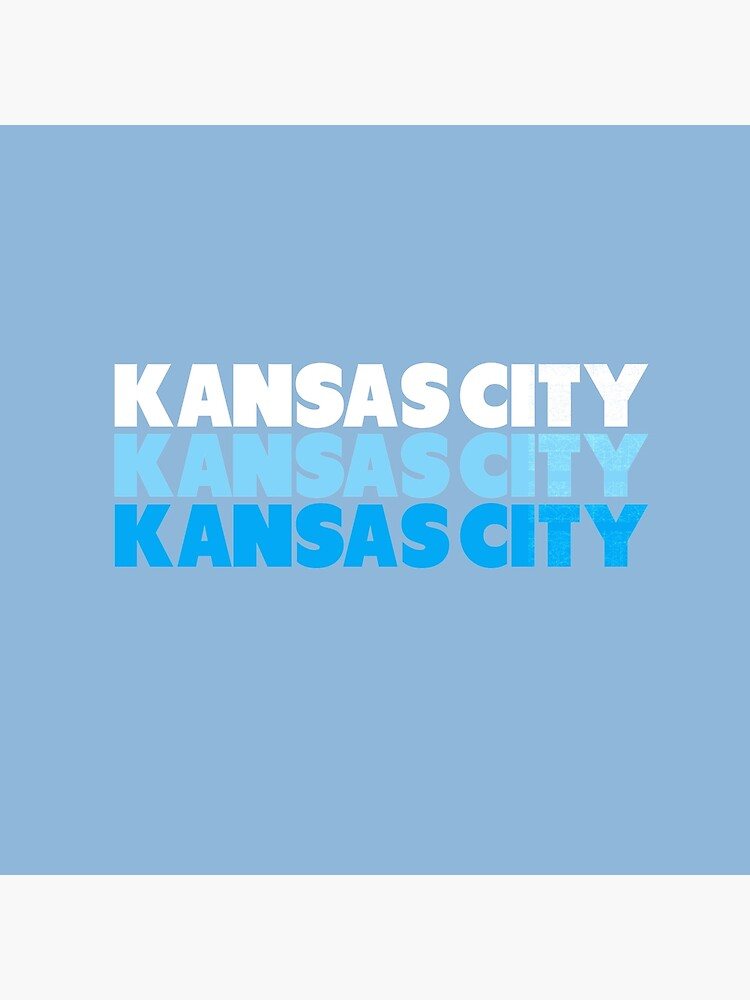 Retro KC Royal Blue & Light Blue Kansas City Crown Town KC Baseball Fans Wear Kansas city KC Face mask Kansas City facemask by kcfanshop