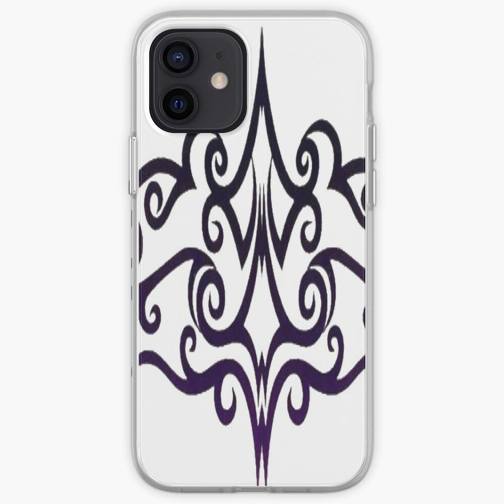 #Decoration, #design, #spiral, #pattern, ornate, illustration, element, curve, silhouette, shape, antique, art, abstract iPhone Case