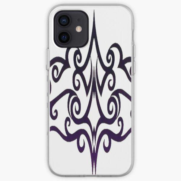 #Decoration, #design, #spiral, #pattern, ornate, illustration, element, curve, silhouette, shape, antique, art, abstract iPhone Soft Case